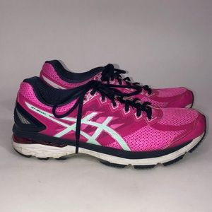 Asics GT 2000 4 Women's Running Shoes Size 11 Pink